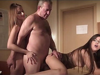 Ryuu Ibuki asks her boss for some hot pussy in a hot threesome