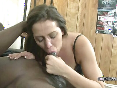 Bushy brunette pussylicked and toyed pov