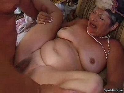Blonde Granny going nntloa goner with young guy on balcony for fun