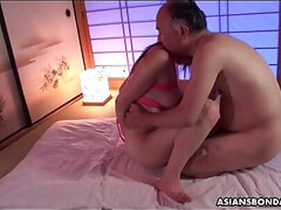 Sexy Giuselles stepdaughter likes fucking by younger guy