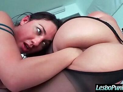 Hard Lez Punish Sex Tape Using Toys By Lesbo Girls (Phoenix Marie & Amara Romani) video-27