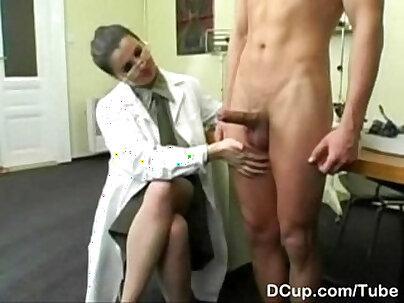 Busty Indian nurse makes you cum