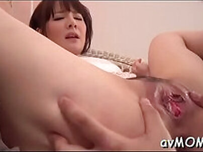 beautiful MILF Manila Babe Toys Her Tits And Ass