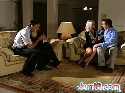 A filthy foursome cumming swap