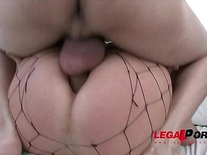 Big butt sluts Nata Lee & Chrissy Fox anal & DP foursome SZ867