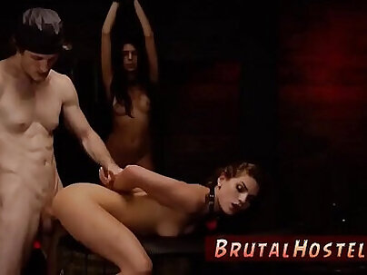 Brutal painful anal gangbang They're excellent time is nearly wrecked