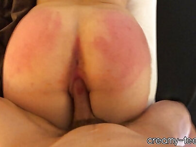 18yo tinder date tied up and fucked hard