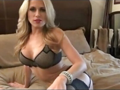 Hot blonde MILF give jerk off instructions - xxxrocket.com