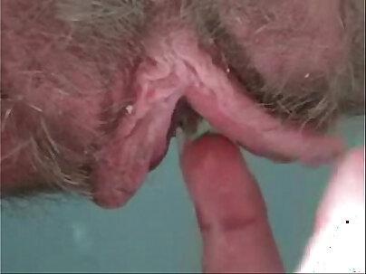 Liz Kusikha surprises hairy pussy and creampie