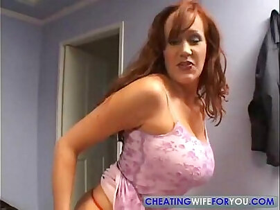 Attractive mature redhead rough fucked hard