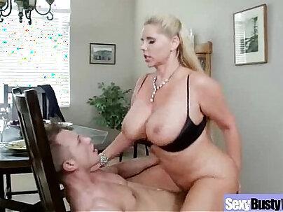 Busty wife gets slavefucked