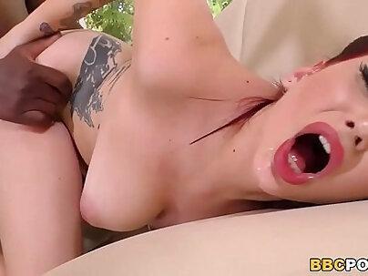Busty Amber Ivy Fucks A BBC On Casting
