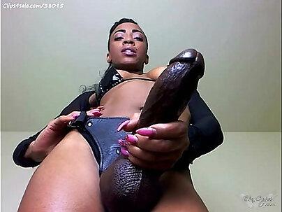Nasty mistress demands black bbc