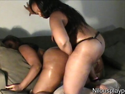 Behind the scenes of strap on casting couch nilou achtland and eve