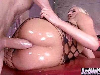 Big Butt slut Girl kate england Get Oiled And Hard cock Deep Anal Nailed vid