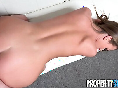 PropertySex Young real estate agent interviews for job at top agency