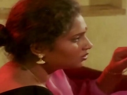 Hot Aunty and Man in Room Scene Uma Maheshwari hot glamour scene