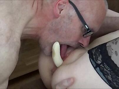Angel the banana vagina whore