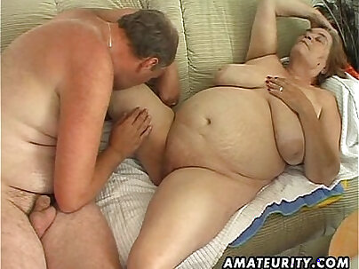 Hot Mature BBW Wife Amateur Longings For Fuck I