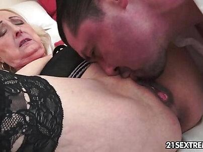 GuyGotMe Granny and grandma fuck her greedy boyfriend