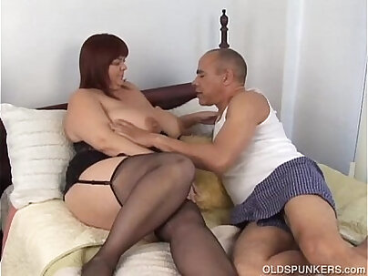 BBW Mature Friars With HUGE & BIG TITS toying