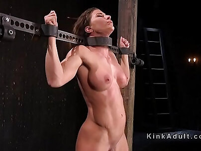 Busty slave double penetration with pet services