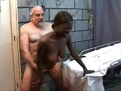 Teen first black cockstyled by grandpa