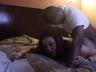 Connie swings hard motel fuck each other with facial cum