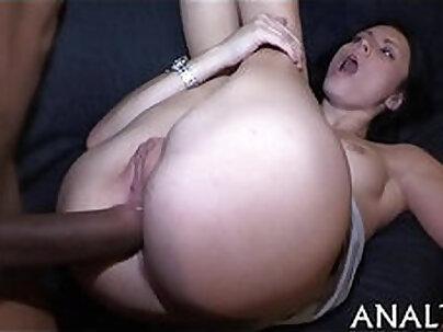 She rides his hard dick