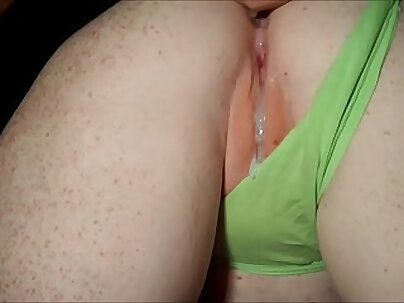 Blonde Shaking her pussy doggystyle for cumming