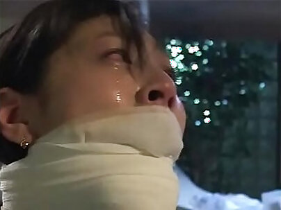 Naughty asian gagged and tortured