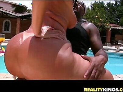 Soraya Carioca bares her MASSIVE brazilian ass and gets her sweet asshole reamed