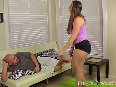 Big Brothers Round Booty Fucks a Little Sister