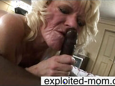Big Black Cock Sucks And Recovered This Mature White Boy