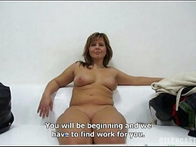 Cute czech boy gets blown the horny casting agent for studio