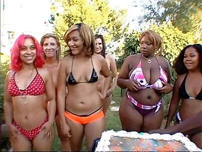 Big phat wet ass orgy