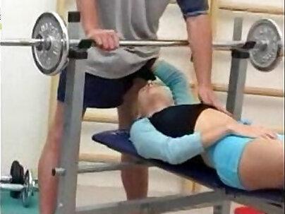 Melanie Rose Gym hardcore sex