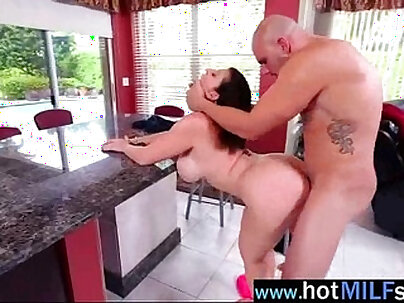 Sex tape on huge monster dick with horny milf sara jay clip-27