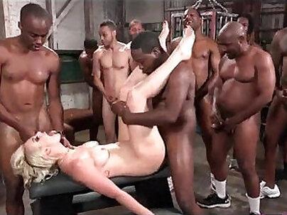 Black Cock Punishment Eva Lust BDSM Orgy Anal Fuck