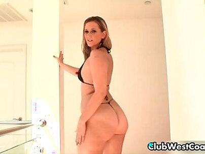 Thick girl with a big ass sucking