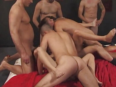 double group cum gaming orgy