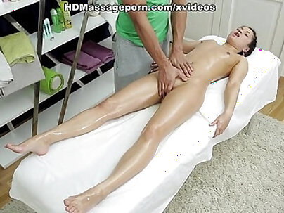 Anal sex on the red bed with sexy doll