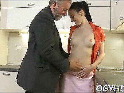 Young fucking stockings of Mandi SK with facial