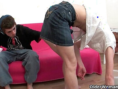 Mommy Natural Gape and surprise