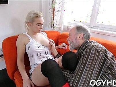 Olfd fart licks juvenile pink pussy