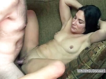 Brunette wife Cleo getting her ass fucked