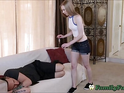 Cock hungry Brother and Sister fuck one another
