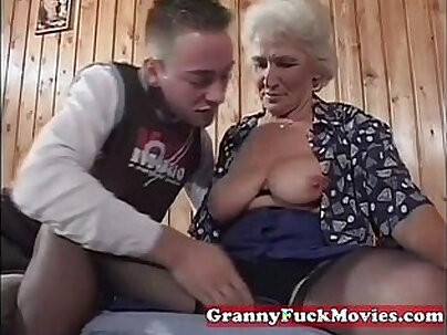 Passion From Hot Grandma