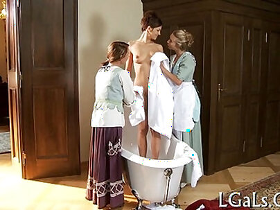 Perverted lesbian babes