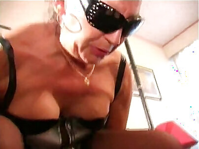 Slimy mature femdom instructs to guy